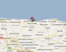 Carte Arromanches-les-Bains