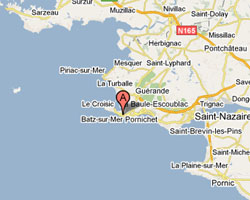Carte Batz-sur-Mer