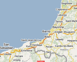 image map Pays Basque