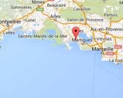Carte Fos-sur-Mer