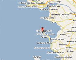 Carte Ile de Noirmoutier