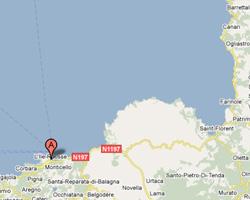 Carte L'Ile-Rousse