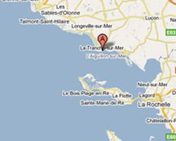 Carte La Tranche-sur-Mer