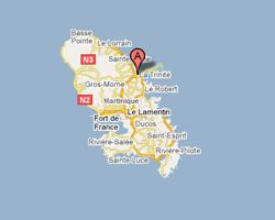 Carte La Trinité Tartane