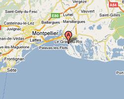 Carte Grau-du-Roi-Port-Camargue