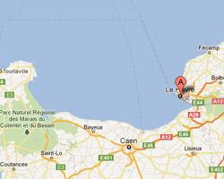 Carte Le Havre