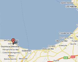 Carte Luc-sur-Mer