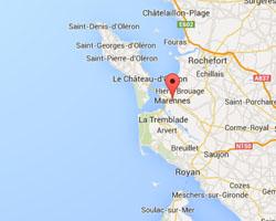 Carte Marennes