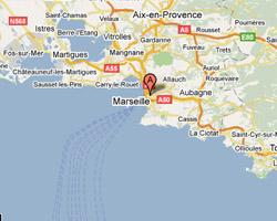 Carte Marseille
