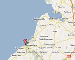 Carte Mers-les-Bains
