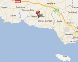 Carte Moëlan-sur-Mer