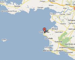 Carte Piriac-sur-Mer