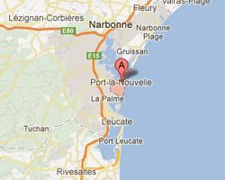 Carte Port-la-Nouvelle