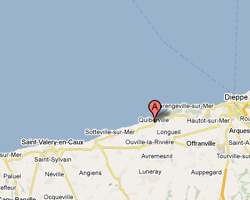 Carte Quiberville-sur-Mer