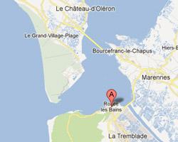 Carte Ronce-les-Bains - La Tremblade