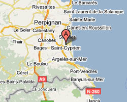 Carte Saint-Cyprien
