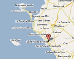 Carte Saint-Hilaire-de-Riez
