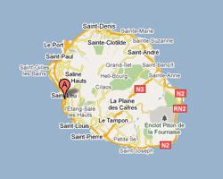 Carte Saint-Leu