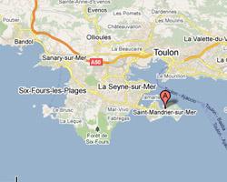 Carte Saint-Mandrier-sur-Mer