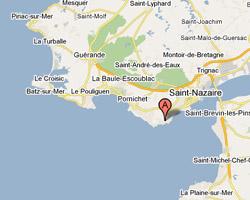 Carte Saint-Marc-sur-Mer Saint-Nazaire