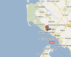 Carte Saint-Palais-sur-Mer