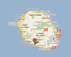 Carte Saint-Pierre