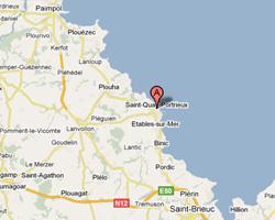 Carte Saint-Quay-Portrieux