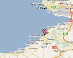 Carte Trouville-sur-Mer